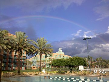 Agile 2010 Rainbow at the Disney Dolphin Hotel
