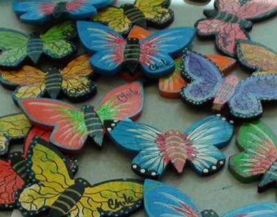 Butterfly Art from Chile